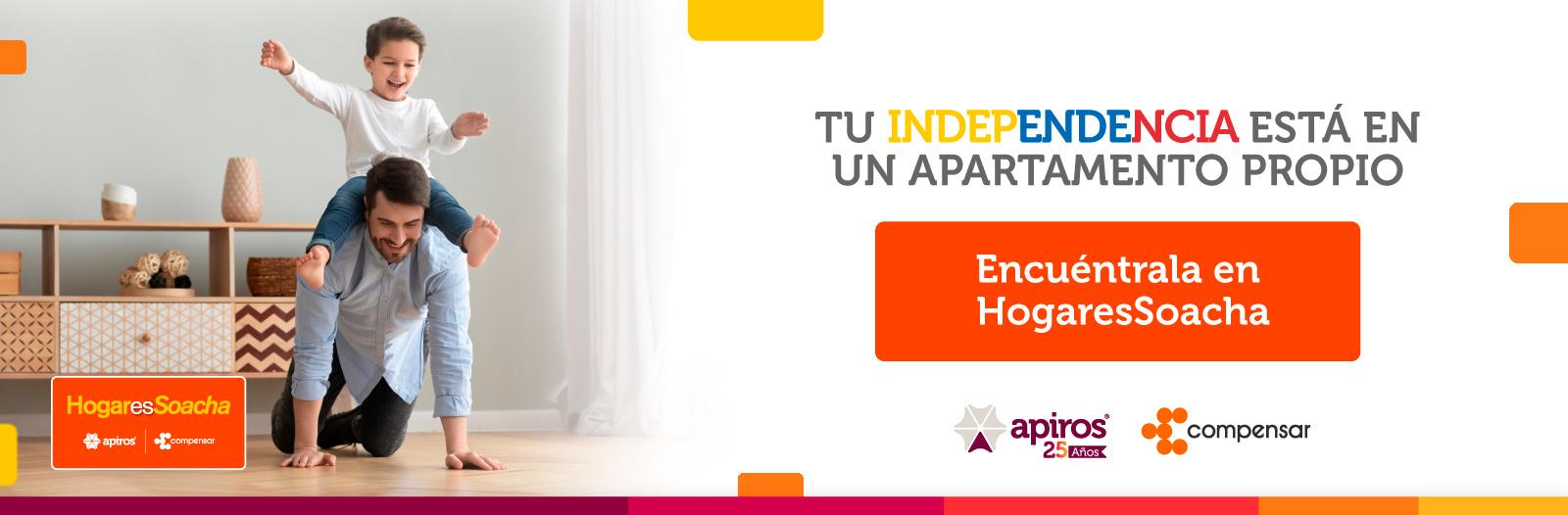 tu independencia está en un apartamento propio encuentrala en hogaressoacha
