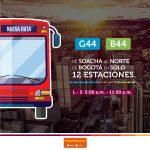 De Soacha al Portal Norte de Transmilenio en solo 12 estaciones