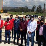 Apiros y Amarilo construyeron vía que conectará a habitantes de Soacha con vías principales y mejorará tráfico del municipio